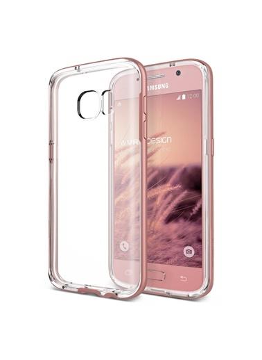 Samsung Galaxy S7 Edge Crystal Bumper Kılıf  -Verus